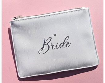 Wedding day bag / honeymoon clutch bag
