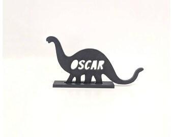 Dinosaur wooden stand / custom Dino gift /dinosaur / wooden dinosaur /nursery ideas/ Boys room/ Boys birthday present /dinosaur door name