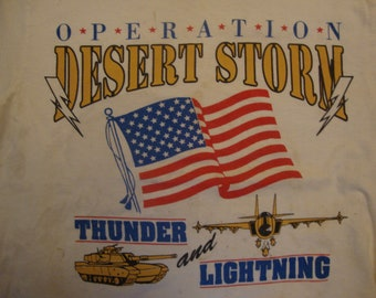 Vintage Desert Storm Etsy