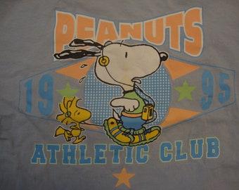 Snoopy Peanuts Cartoon Happy Cute 80s Retro Unisex t shirt B60