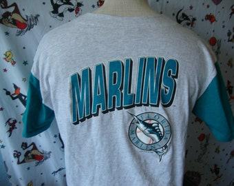 5d9021625 ... netherlands vintage florida marlins mlb 90s 1993 gray jersey t shirt  youth size xl 671b0 181b1