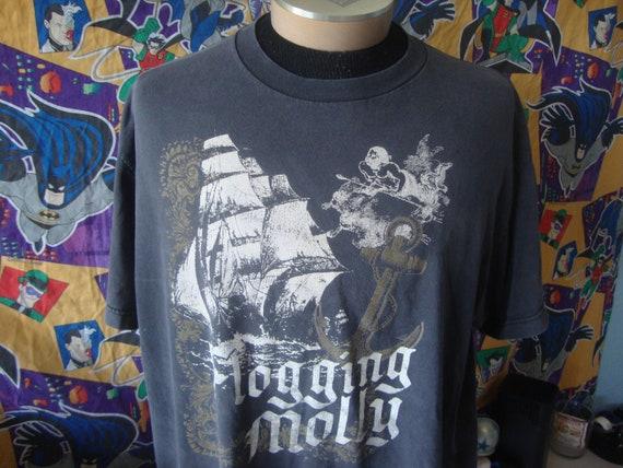 Vintage Flogging Molly Concert Tour T Shirt XL
