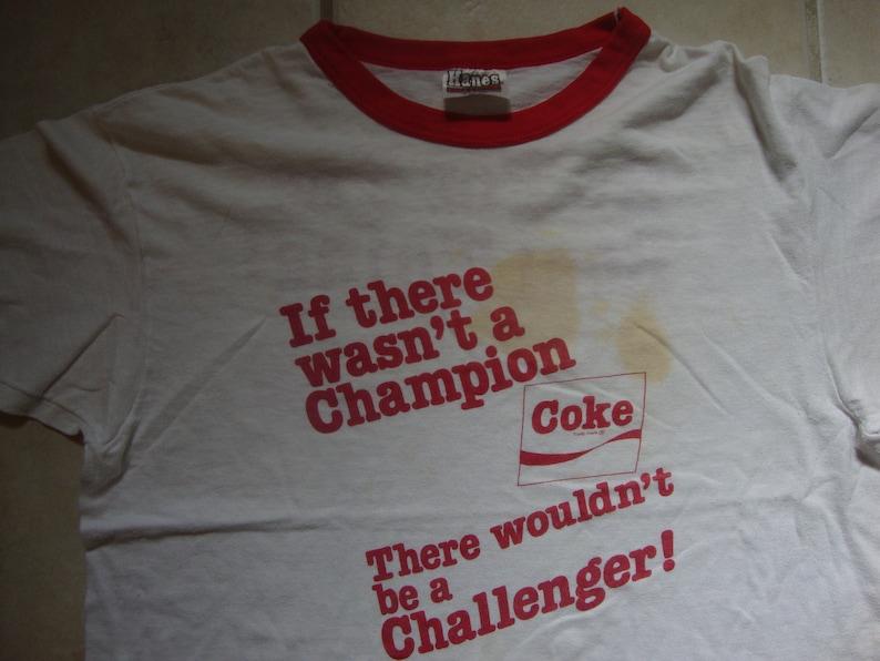 2b16bdc1c1d4a0 Vintage 80's Coca-Cola Company Soft Drinks Champion Coke | Etsy