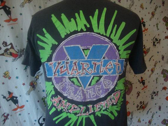 Vintage 80's VUARNET France black amplified T Shir