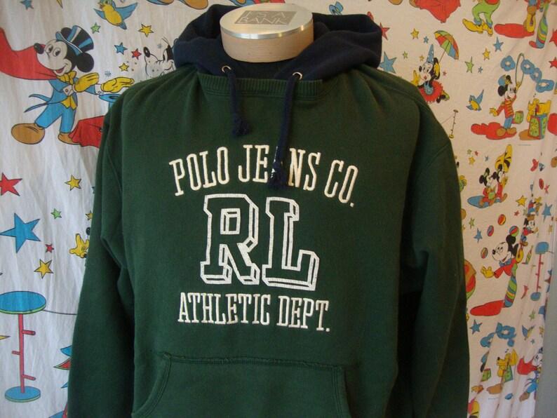6d698352 Vintage 90's Polo Jeans Ralph Lauren RL-67 Athletic Dept | Etsy