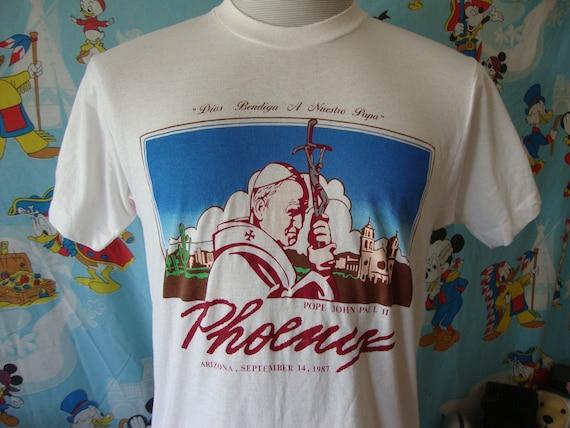 Vintage 80's Pope John Paul II Phoenix Arizona 198