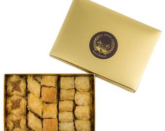 Baklava | Bite size | Baked to Order | 19 Pieces | Château de Mediterranean | Gift