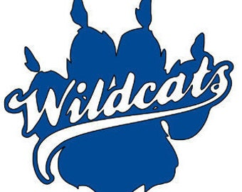 Wildcat Decal Etsy