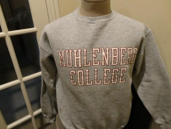 Vtg 80's Gray Jansport Muhlenberg College Mules 50