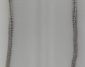 """Box Weave Necklace Stainless Steel - 25 1/2"""" Length"""