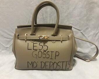 Less Gossip Handbag