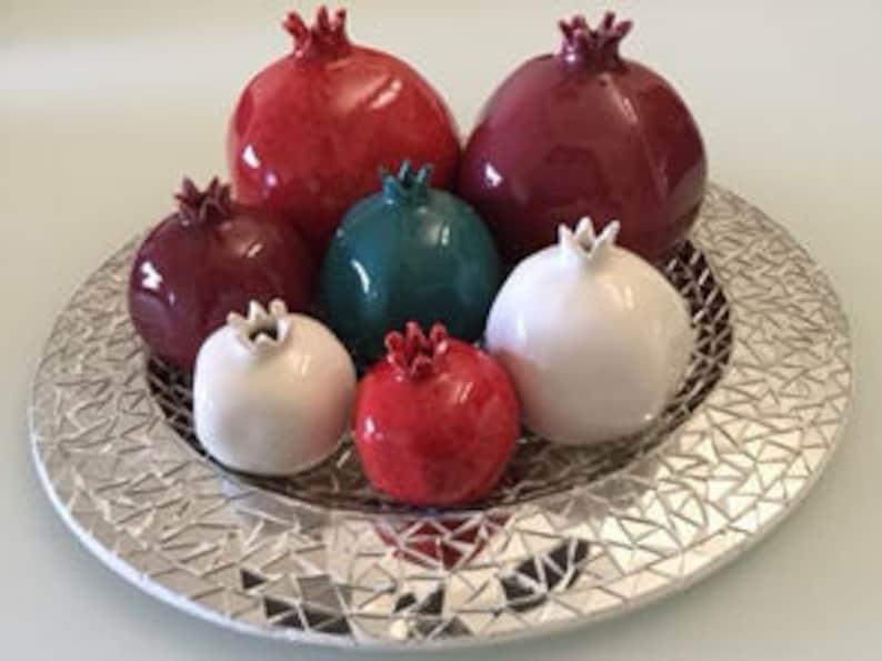 Small Pomegranate Burgandy