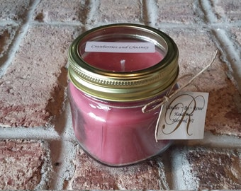 Cranberries and Chutney Soy Candle