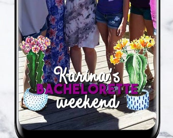 Bachelorette Party Snapchat Geofilter #22
