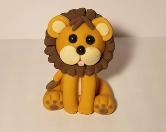 Small Lion Sugarcraft Silicone Mold animal-Fondant-Resin-Gumpaste-Clay-Candy-Jewelry-crafts