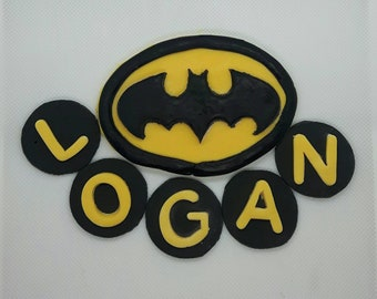 Edible Batman Cake Topper