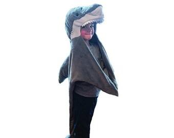 Shark Dress Up Costume - Shark Disguise - Shark Play Costume