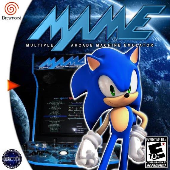 Mame Arcade Collection Custom Sega Dreamcast Game
