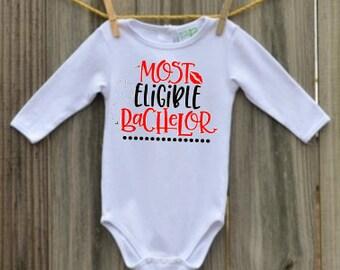 Most Eligible Bachelor Baby Boy Onesie
