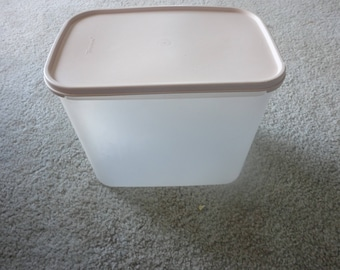 Vintage Tupperware, Modular Mate,  # 4, Canister Set, Kitchen Organization, Pantry Storage, Craft Storage, Large Mixing Bowl, AirTight seal