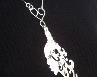 Handcrafted Bespoke Sterling Silver Necklace