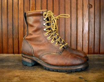 a6953502fd9 Loggers boots | Etsy