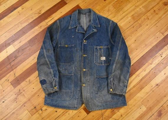 1940s Hercules M/L Denim Chore Jacket Vintage Work