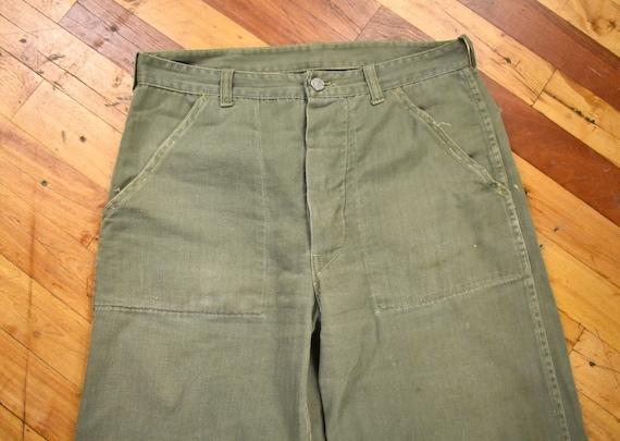 40s HBT Trousers 32 x 28 U.S. Military Army Pants