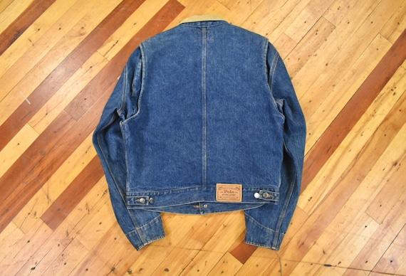 Polo Ralph Lauren Medium Denim Jacket Vintage 80s - image 7
