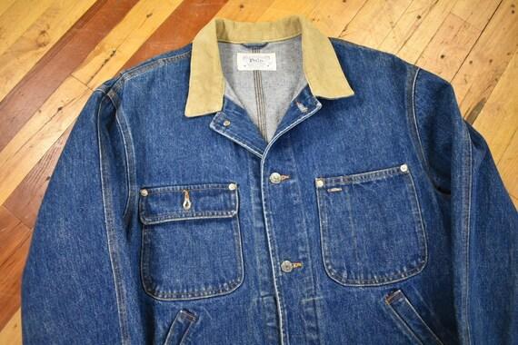 Polo Ralph Lauren Medium Denim Jacket Vintage 80s - image 2