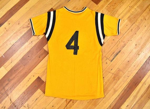 50s 60s Acorn Lodge Jersey Small Rayon T-Shirt Vi… - image 5