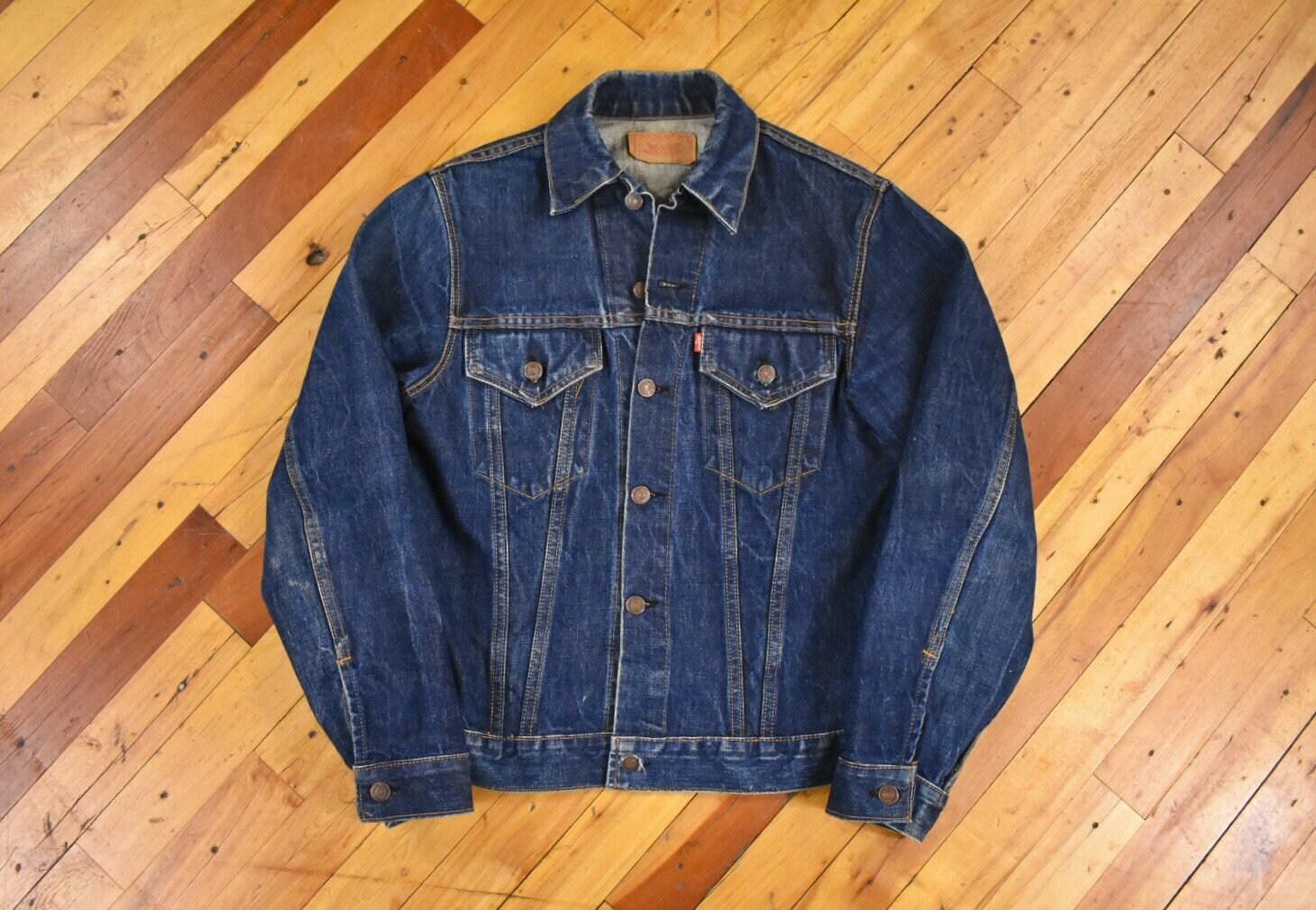 1960s – 70s Men's Ties | Skinny Ties, Slim Ties 60S Levis Jacket Small Big E Trucker Type Iii Denim Mens Vintage Work Wear $20.00 AT vintagedancer.com