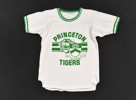 70s Princeton Tigers Small Jersey Ringer T-Shirt T