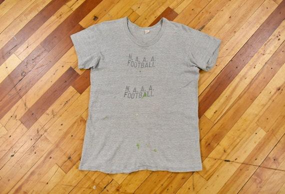 50s Russell Southern Medium T-Shirt NAAA U.S. Navy