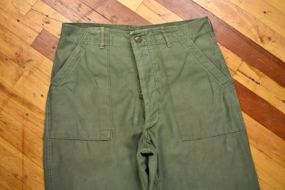 OG-107 Sateen Pants 34 x 30 U.S. Military Army Fat