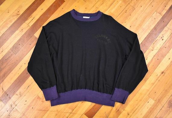 60s Champion XL Rayon Sweatshirt Two Tone Jersey '