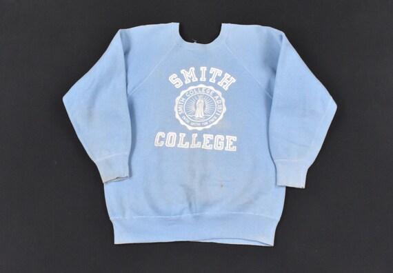 50s 60s Champion S/M Sweatshirt Raglan Sleeve Fade