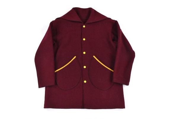 1950s Notre Dame Stadium Parka Wool Warm-Up Jacket