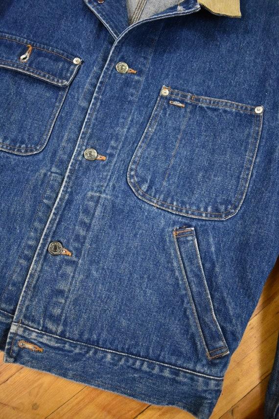 Polo Ralph Lauren Medium Denim Jacket Vintage 80s - image 3