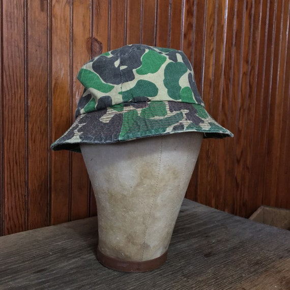 Duck Camo Size Small Bucket Hat Frogskin Hunting Cap Men s  1b5723d1d8c