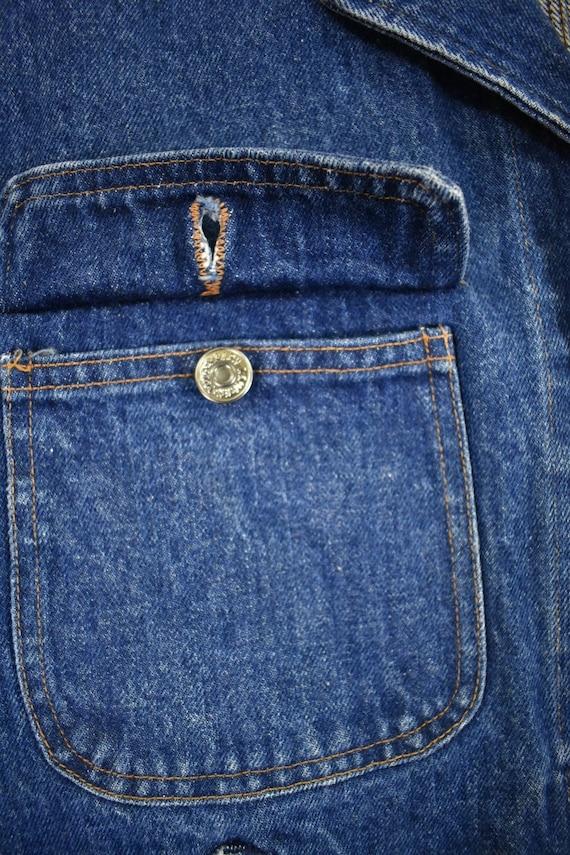 Polo Ralph Lauren Medium Denim Jacket Vintage 80s - image 4
