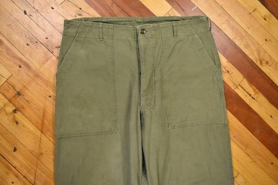 OG-107 Sateen Pants 38 x 31 U.S. Military Army Fat