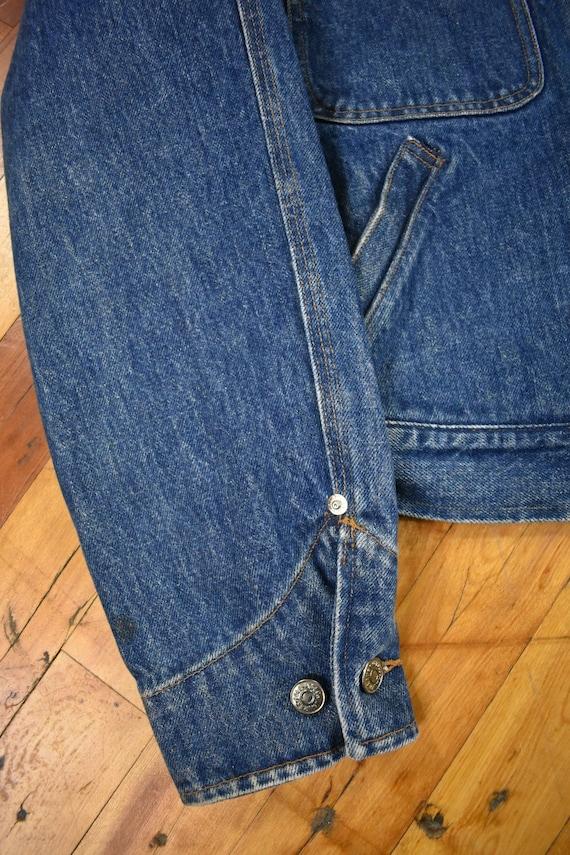 Polo Ralph Lauren Medium Denim Jacket Vintage 80s - image 5