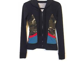 Camo hoody Jacket