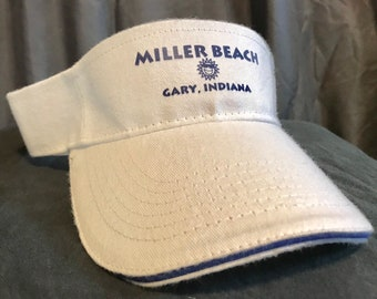 80474f2a4df9e Miller Beach Gary Indiana Visor