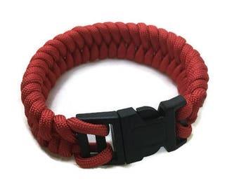 Paracord Bracelet - Fishtail Braid