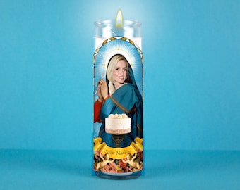 Queen of Vices: Custom Saint Prayer Candle