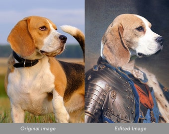 Power Play: Customizable Portrait for pets, friends and celebrities.