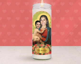 Love Fire: Custom Prayer Candle (Mother's Day Gift Exclusive)