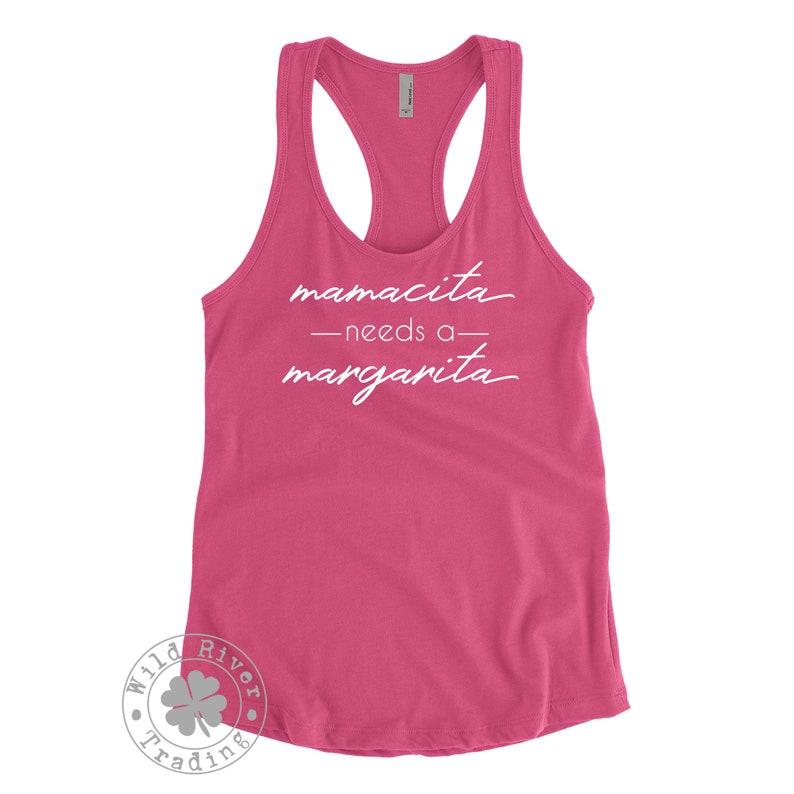 Download Mamacita Needs a Margarita Tank Top Cinco De Mayo Mom ...